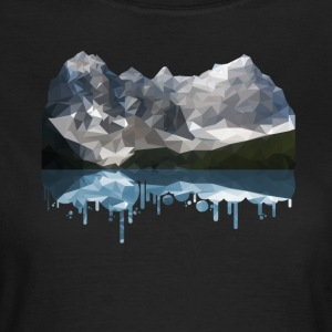 Mountains Low Poly - Women's T-Shirt