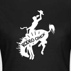 Rodeo Chick - T-skjorte for kvinner