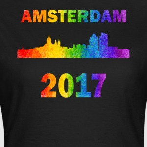 Amsterdam stolthed - Dame-T-shirt
