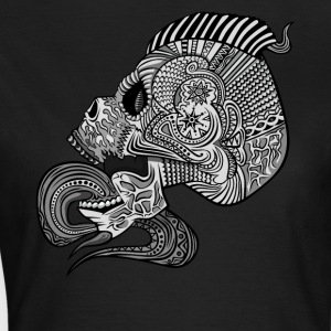 Fancy Skull Pattern Inside Punk - Women's T-Shirt