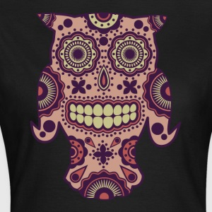 Owl Sugar Skull - Women's T-Shirt