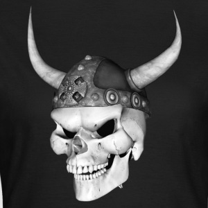 Viking Skull 3 - Dame-T-shirt