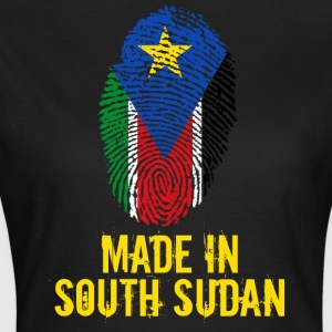 Made In South Sudan / Sydsudan - T-shirt dam