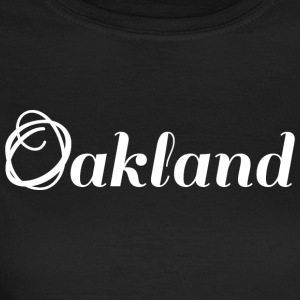 Oakland | Logo | White - Women's T-Shirt