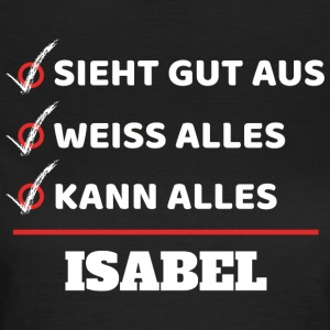 Isabel - Frauen T-Shirt