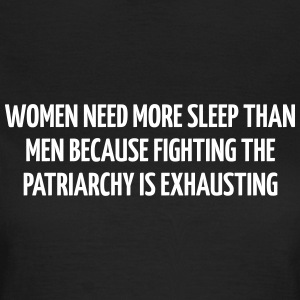 Women need more sleep than men because