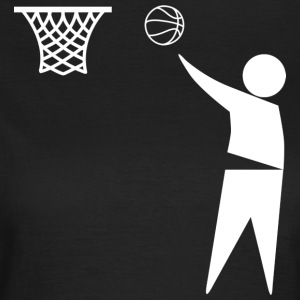 basketball Trash - T-skjorte for kvinner
