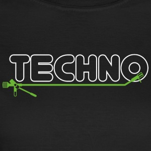 Techno turntable - Frauen T-Shirt