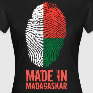 Made In Madagaskar / Madagasikara / Madagaskar - T-skjorte for kvinner