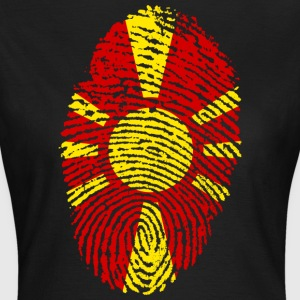 MAKEDONIEN FINGERPRINT T-shirt - T-shirt dam