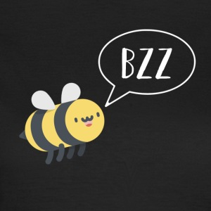 Bee - bzz - funny - funny - nature - summer - Women's T-Shirt
