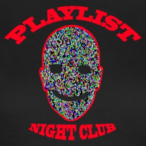 Playlist Club Smiley - T-shirt Femme