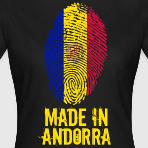 Made In Andorra - T-shirt dam