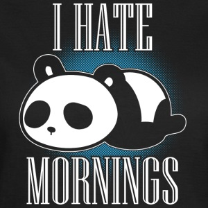 Morning muffle Panda funny - Women's T-Shirt