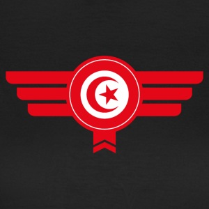 Tunisia emblem flag - Women's T-Shirt