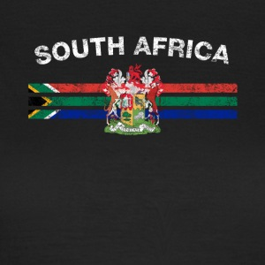 Sydafrikansk Flag Shirt - South African Badges & - Dame-T-shirt