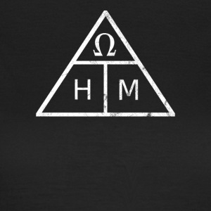 The Ohm's law in a triangle - Women's T-Shirt