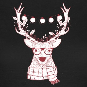 Cool Reindeer Design - Women's T-Shirt