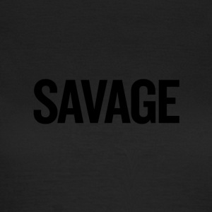 Savage Black - Vrouwen T-shirt
