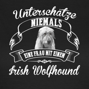 Irish Wolfhound - Frauen T-Shirt
