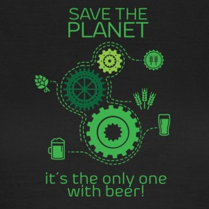Save the planet - Maglietta da donna