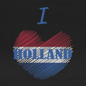 Ich liebe Holland I love Dutch - Frauen T-Shirt
