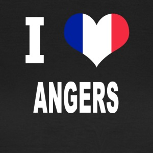 I Love ANGERS - Dame-T-shirt