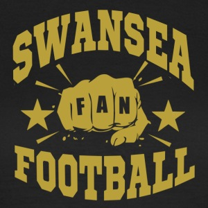 Swansea Football Fan - Women's T-Shirt