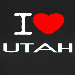 I LOVE UTAH - Women's T-Shirt
