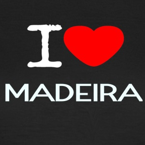 I LOVE MADEIRA - Frauen T-Shirt