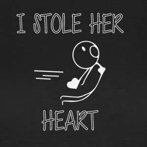 I stole her heart - Women's T-Shirt