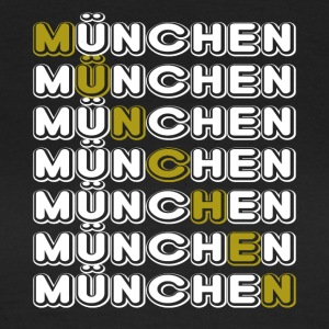 Munich Munich horizontal white - Women's T-Shirt