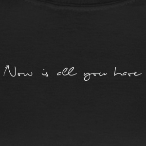 Now_white - Vrouwen T-shirt