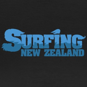 NEW ZEALAND Surfing Water Country - Dame-T-shirt