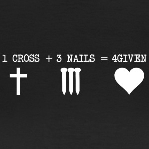 CROSS 1 + 3 + NAILS 4GIVEN - Camiseta mujer