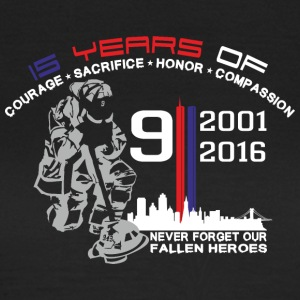 9/11 Ground Zero 15 Years Anniversary - Women's T-Shirt