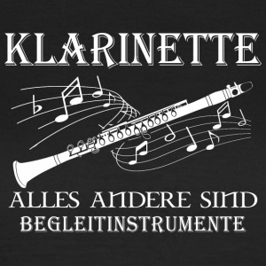 Klarinette - Frauen T-Shirt