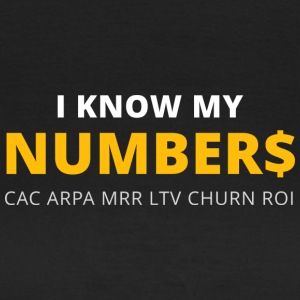 I know my numbers - Women's T-Shirt