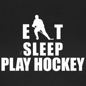Hockey Eat Sleep Hockey gioco - Maglietta da donna