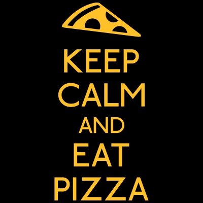 Keep Calm Pizza