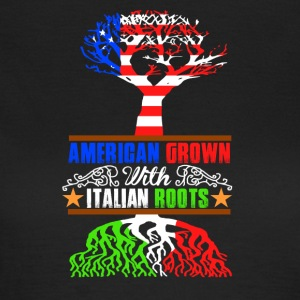 American Grown - T-skjorte for kvinner