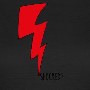 shocked rood - Vrouwen T-shirt