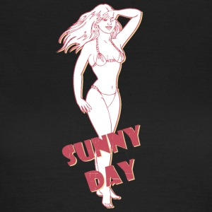 sunny day with sexy girl - Women's T-Shirt