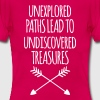 Unexplored Paths - Women's T-Shirt