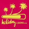 holiday loading citation palmier vacance - T-shirt Femme