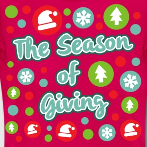 The Season of Giving - T-skjorte for kvinner