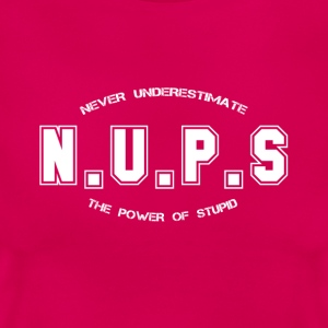 Never Underestimate the Power of Stupid - Women's T-Shirt