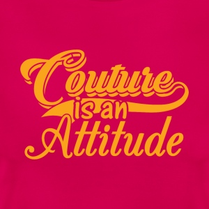 Couture is een Attitude - Gold - Vrouwen T-shirt