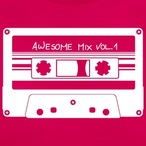 "Cassette ""Mix Awesome"" - T-shirt Femme"