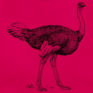 Flamingo Hvem? - Dame-T-shirt